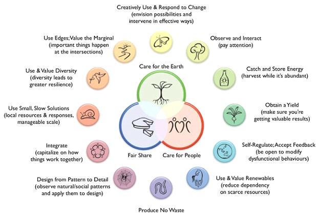 Permaculture-Diagram